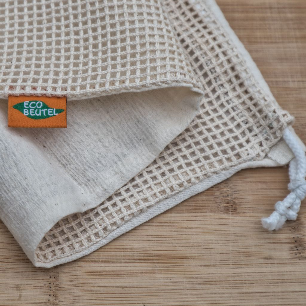 Ecobeutel Baumwollnetzbeutel